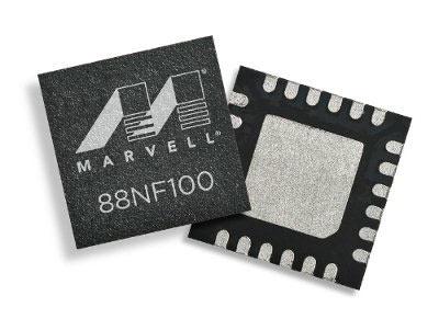 Контроллер Marvell 88NF100 предназначен для интернета вещей, мобильной и носимой электроники
