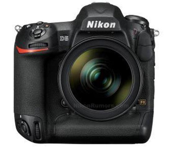Полнокадровая зеркальная камера Nikon D5 предназначена для профессионалов