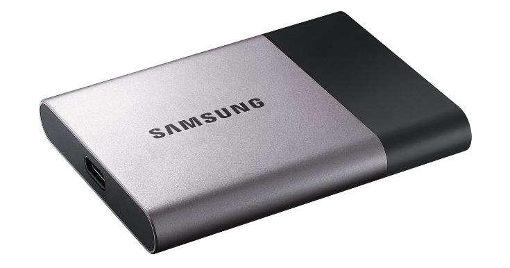 Накопитель Samsung Portable SSD T3 не боится падений