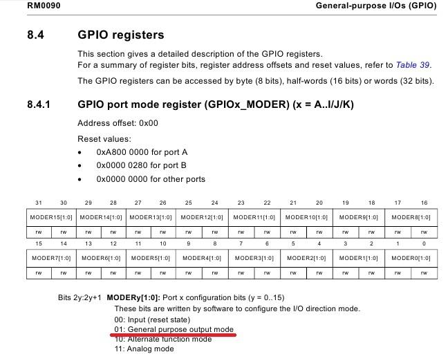 STM32F4: GNU AS: Мигаем светодиодом (Оживление) (Часть 2) - 10