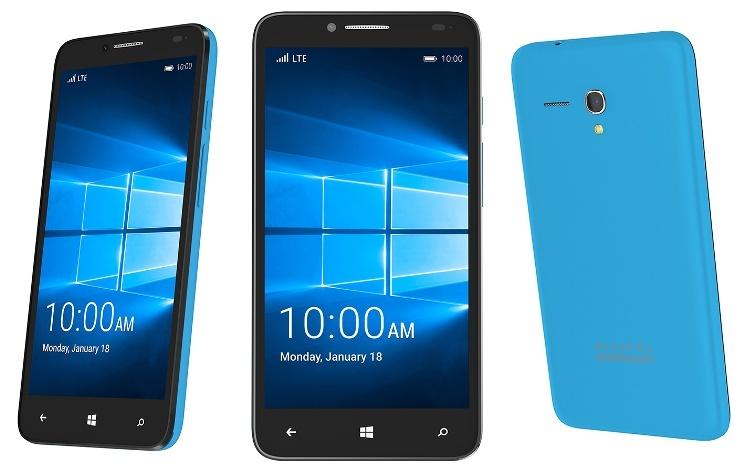 Alcatel представила смартфон и планшет с ОС Windows 10 Mobile