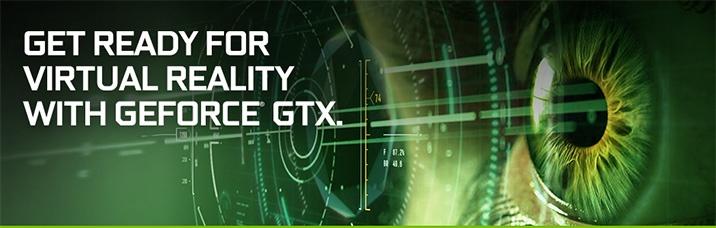Видеокарты и ноутбуки с поддержкой технологии VR получат логотипы Nvidia GeForce GTX VR Ready
