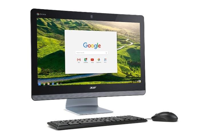 Моноблок Acer Chromebase 24 получит панель IPS Full HD