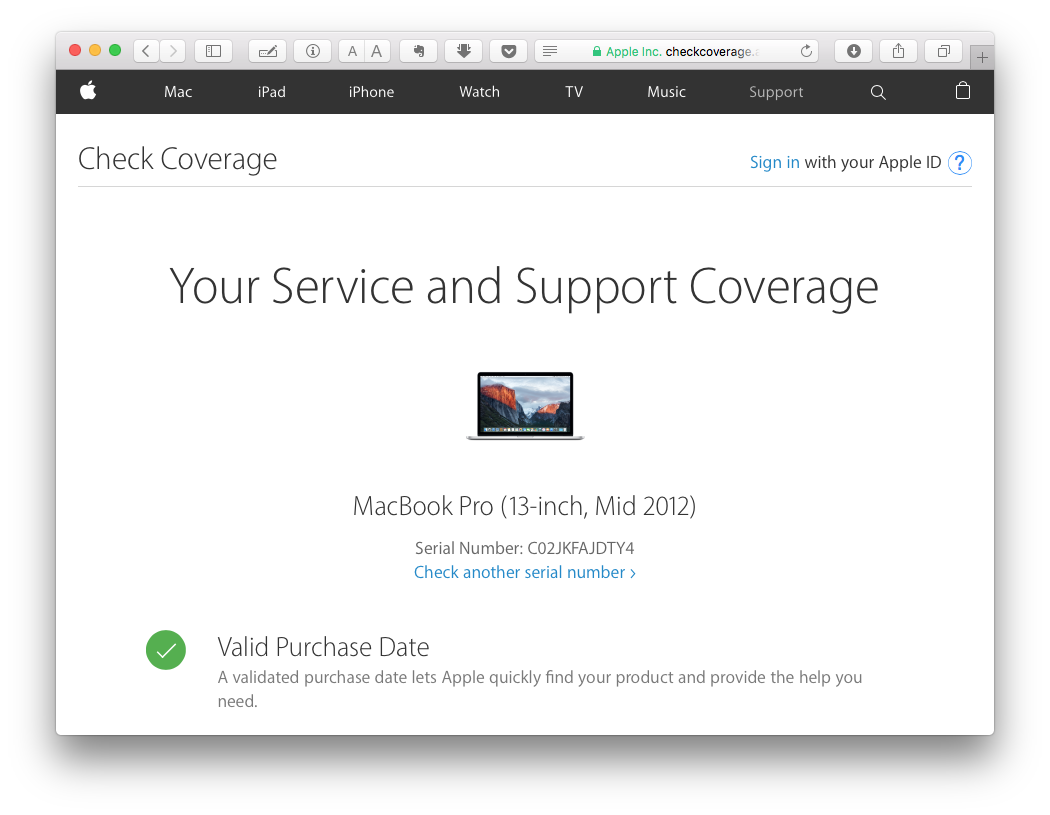 Мошенничество при покупке б-у Macbook Pro - 2