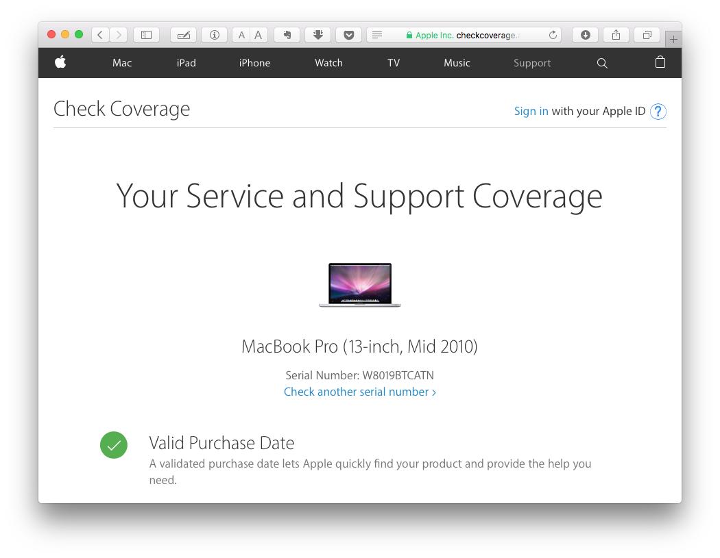 Мошенничество при покупке б-у Macbook Pro - 3