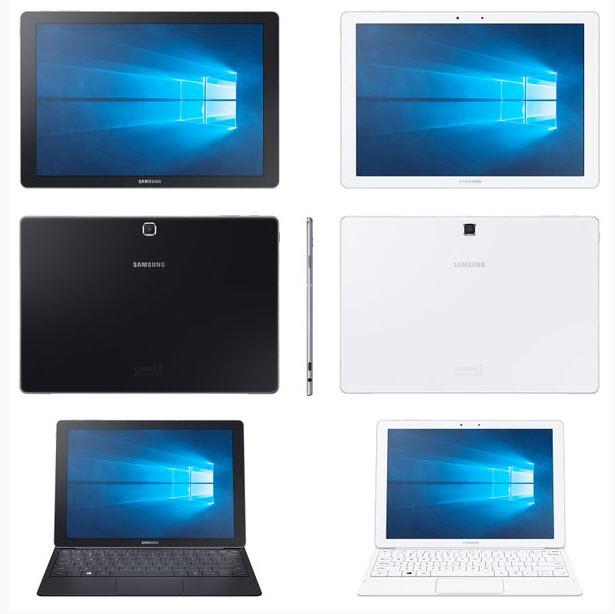 Представлен планшет с подключаемой клавиатурой Samsung Galaxy TabPro S, который работает под управлением Windows 10