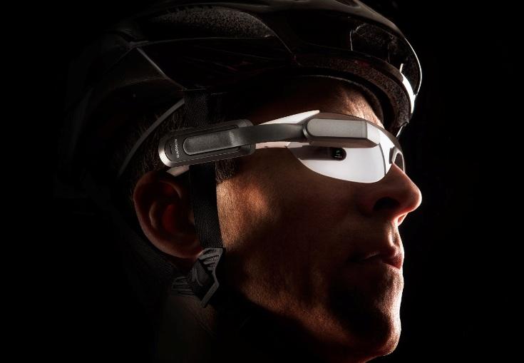 Велосипедные умные очки Garmin Varia Vision стоят $400