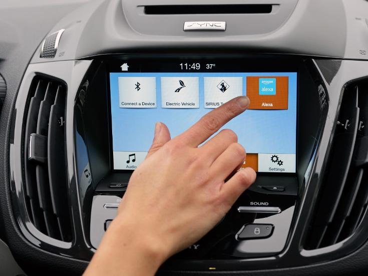 ПО Amazon Alexa в будущем сможет управлять автомобилями Ford