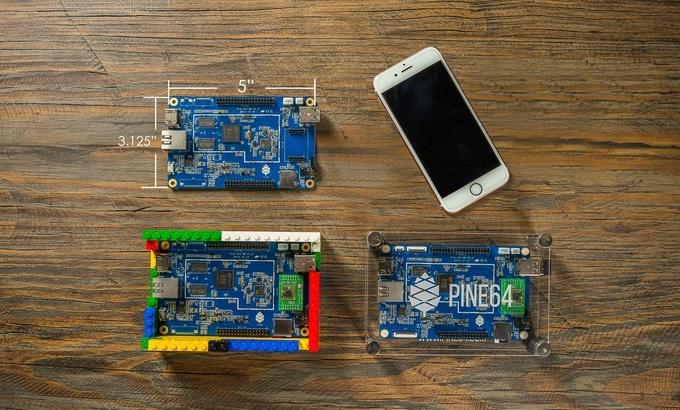 PINE A64: универсальный 64-х битный мини-ПК с Kickstarter - 1