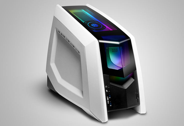 Компания iBuyPower показала на CES 2016 игровой мини-ПК Revolt 2