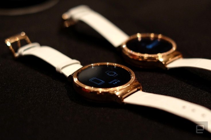 Часы Huawei Watch Elegant и Watch Jewel стоят $500 и $600