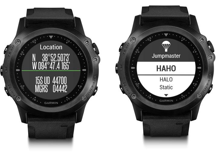 Умные часы Garmin tactix Bravo оснащены приемником GPS