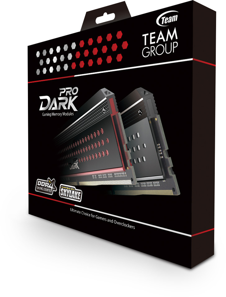 Наборы модулей памяти DDR4 Team Group Dark Pro предназначены для игровых ПК