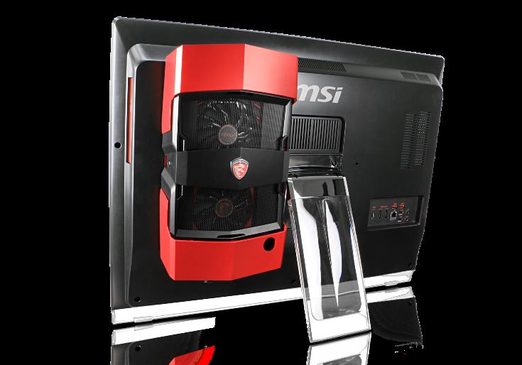 Моноблок MSI Gaming 27XT можно оснастить обычной видеокартой