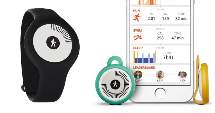 Монитор активности Withings Go умеет считать проплытое расстояние