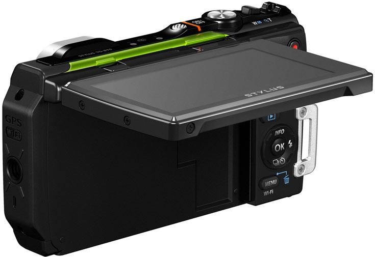 Камера Olympus Stylus Tough TG-870 адресована любителям активного отдыха