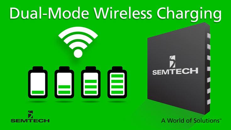 Платформа беспроводной зарядки Semtech TS80K рассчитана на мощность до 15 Вт