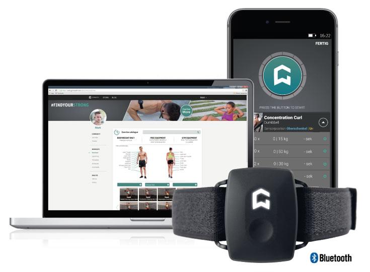 Устройство Gymwatch можно увидеть на выставке CES 2016