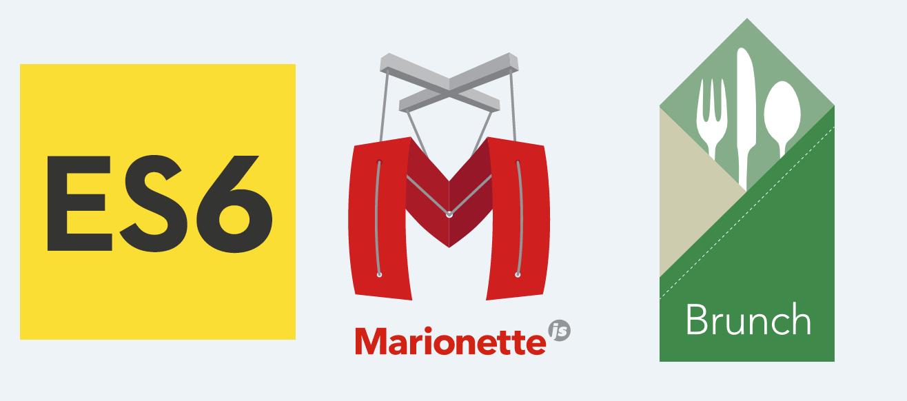 Собираем простое MariontteJS+ES6 приложение с помощью Brunch - 1