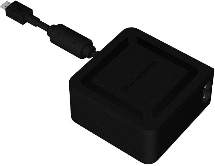Устройство Salcomp Speedy с разъемом USB-C рассчитано на любое входное напряжение, стандартное для электросети
