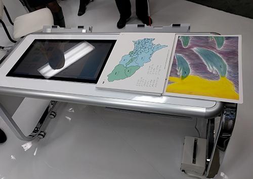 Принтер Casio 2.5D Printer способен создавать печатные изображения с объёмом
