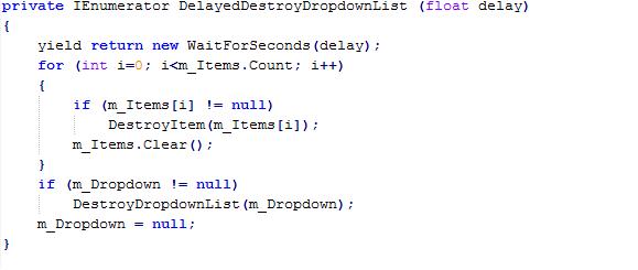 Кастомные корутины в Unity 5.3 - 3