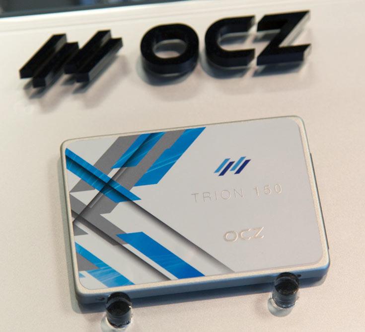 На CES показаны твердотельные накопители OCZ Trion 150 и RevoDrive 400