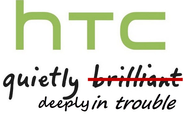 Если в 2014 году продажи HTC составляли 5,64 млрд долларов, то в прошлом году они снизились до 3,65 млрд долларов