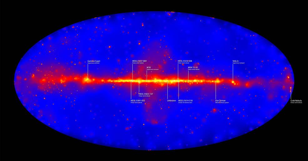 6 лет наблюдения за источниками гамма-излучения во Вселенной: видео от NASA - 1