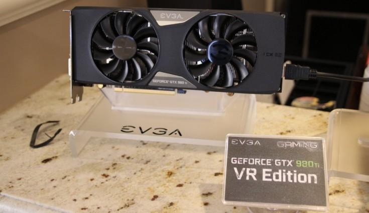 Видеокарта EVGA GeForce GTX 980 Ti VR Edition располагает внутренним портом HDMI