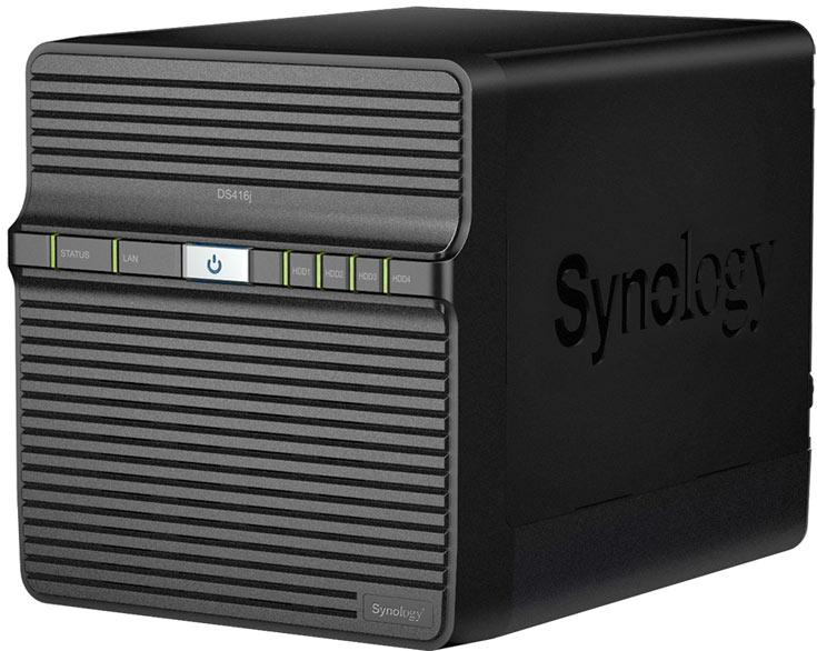 В NAS Synology DiskStation DS416j используется двухъядерный процессор Marvell Armada 388 88F6828