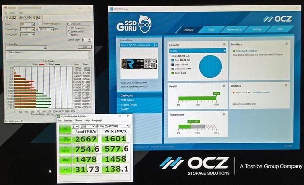 OCZ RevoDrive — NVMe SSD со скоростью работы 2,4 ГБ-с - 3