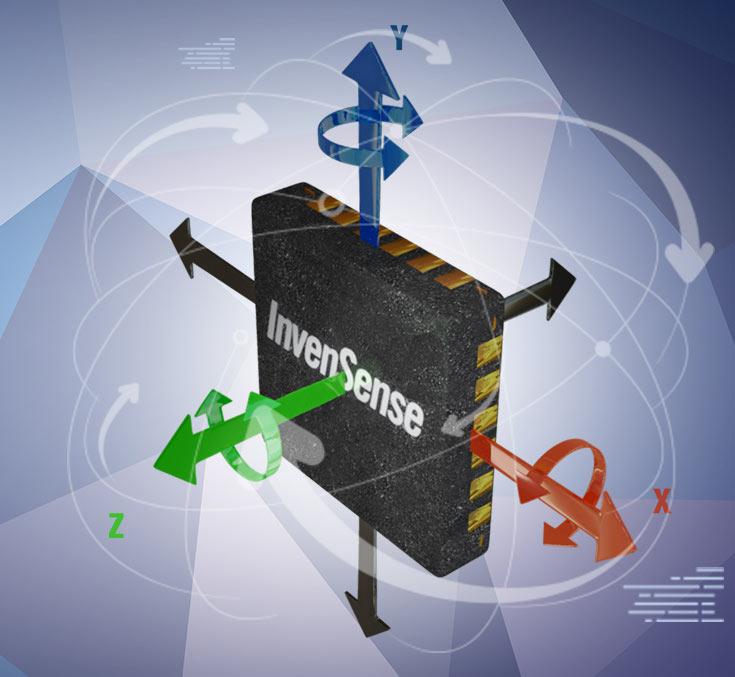 Однокристальная система InvenSense FireFly ICM-30631 предназначена для носимых электронных устройств