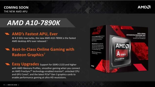 Представлен APU AMD A10-7890K