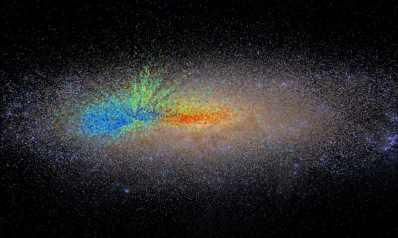 Американские астрономы создали «возрастную» карту нашей галактики - 1