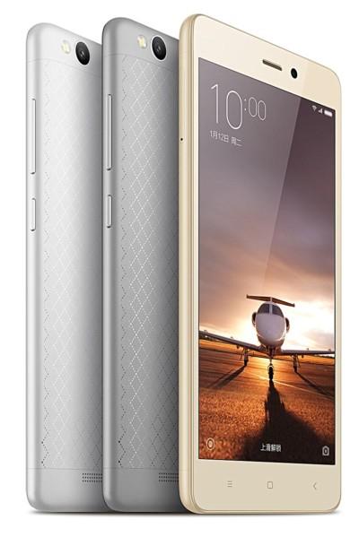 Смартфон Xiaomi Redmi 3 в металлическом корпусе на базе SoC Snapdragon 616 поступил в продажу по цене около $105