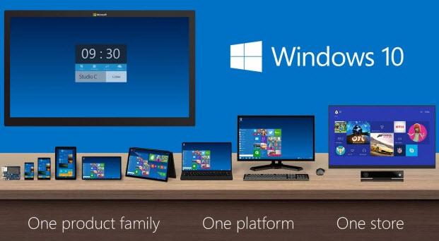 180 млн ПК, 18 млн Xbox One и более 1 млн смартфонов используют Windows 10