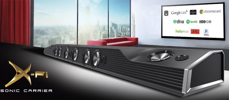 Акустическая система Creative X-Fi Sonic Carrier стоит $5000