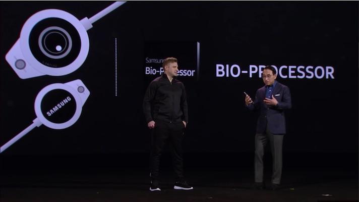 Samsung показала прототип устройства с собственным биопроцессором