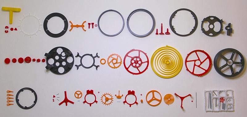 Часы с турбийоном распечатали на 3D принтере - 2