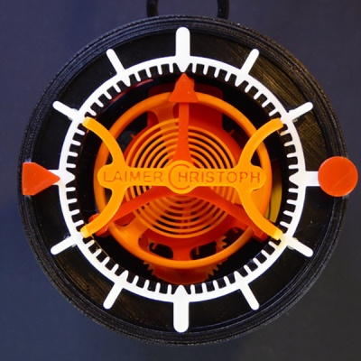 Часы с турбийоном распечатали на 3D принтере - 1