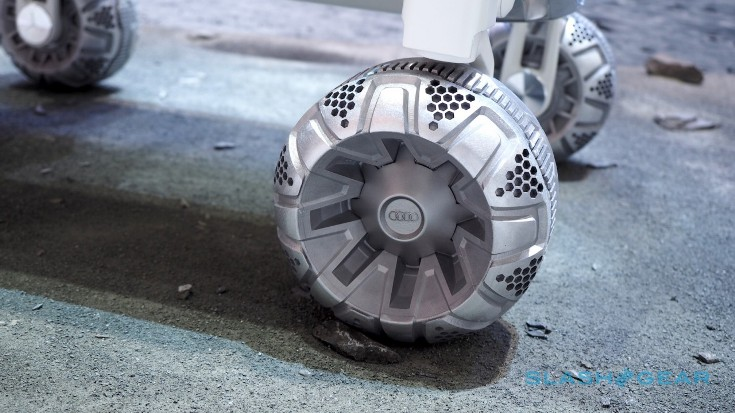 Луноход Audi Lunar Quattro привезли на Детройтский автосалон