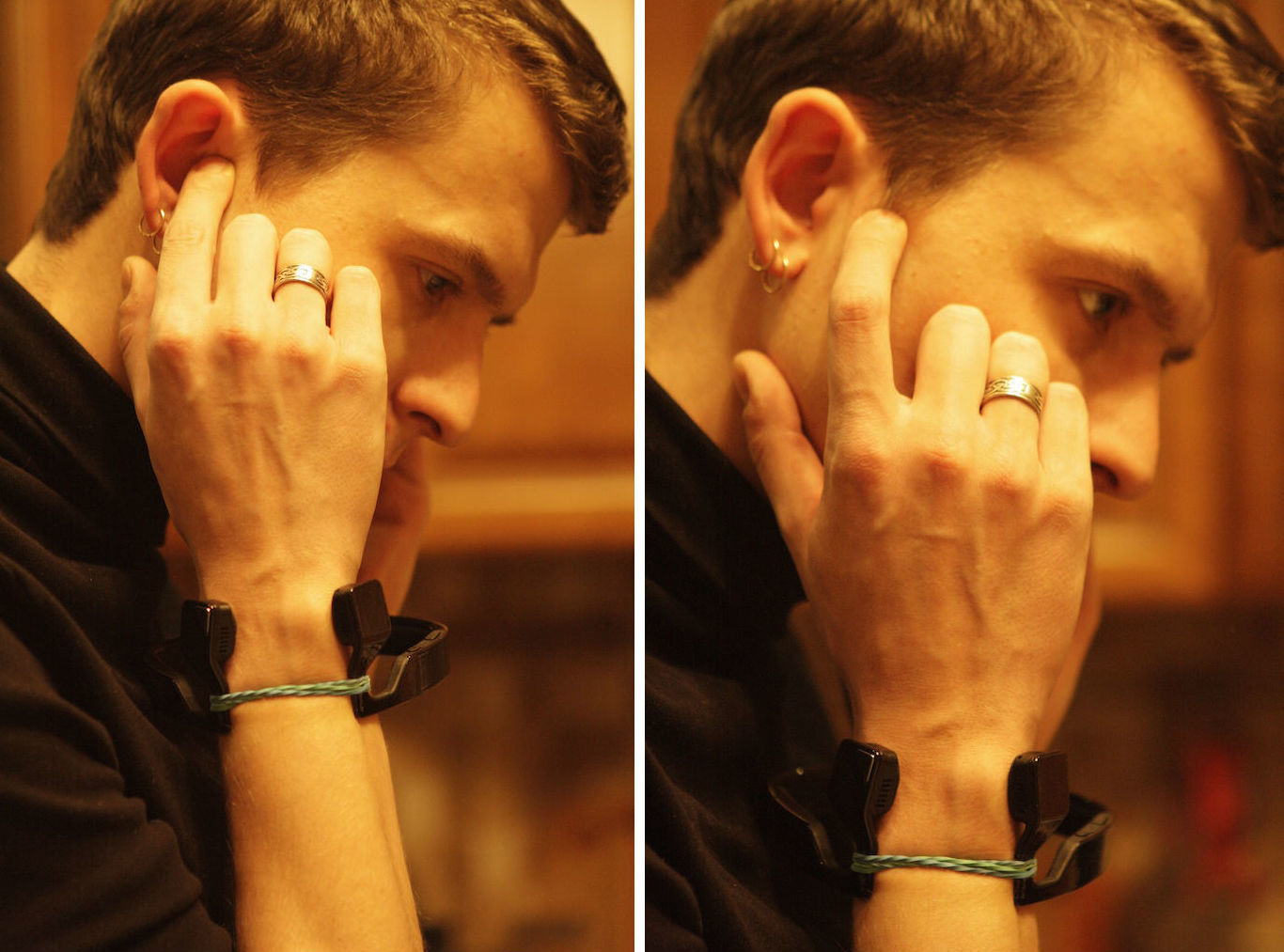 Как слушать музыку через палец - 5
