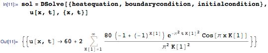 Новое в Wolfram Language | Аналитическое решение уравнений в частных производных - 12