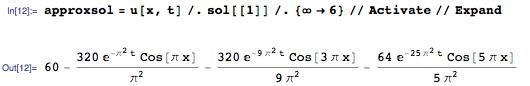 Новое в Wolfram Language | Аналитическое решение уравнений в частных производных - 13