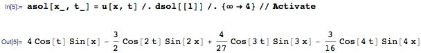 Новое в Wolfram Language | Аналитическое решение уравнений в частных производных - 6