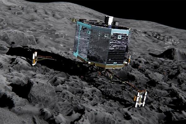 Последняя попытка связаться с модулем Philae на комете Чурюмова-Герасименко оказалась неудачной - 1