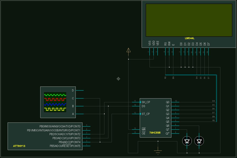 Слон и Моська, или подключение LCD к Attiny13A - 3