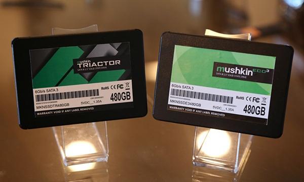 SSD Mushkin Triactor будут продаваться в разных магазинах и странах, а SSD Eco3 — только через Newegg