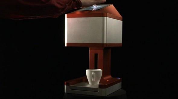 3D-принтер Ripple Maker перенесет нужное изображение или текст на поверхность кофейной пенки - 2